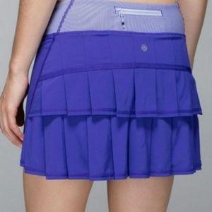 Lululemon Run: Pace-Setter Skirt Stripe Waistband